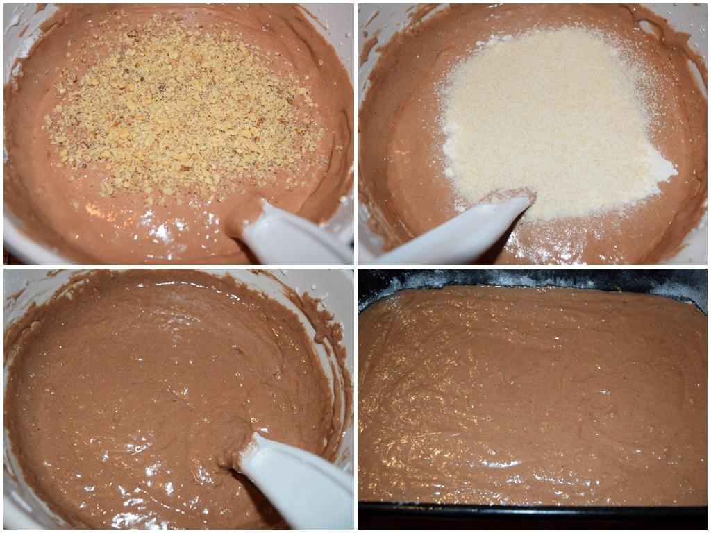 blat de albusuri cu ciocolata