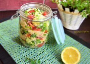 Salată Tabbouleh de quinoa la borcan