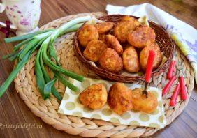 Gogoșele aperitiv din mămăliguță cu brânză sărată