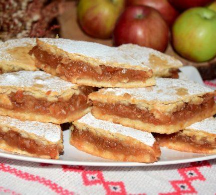 Plăcintă cu mere și dulceață de gutui