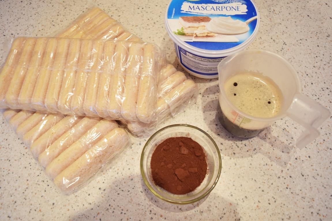 Ingrediente pentru praline Tiramisu