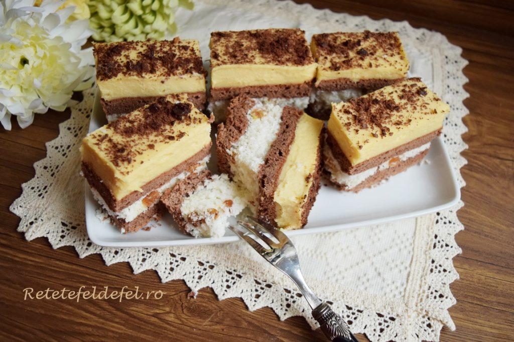 Prăjitura franțuzească aromată și colorată