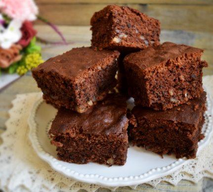 Negresă cu ciocolată și nuci