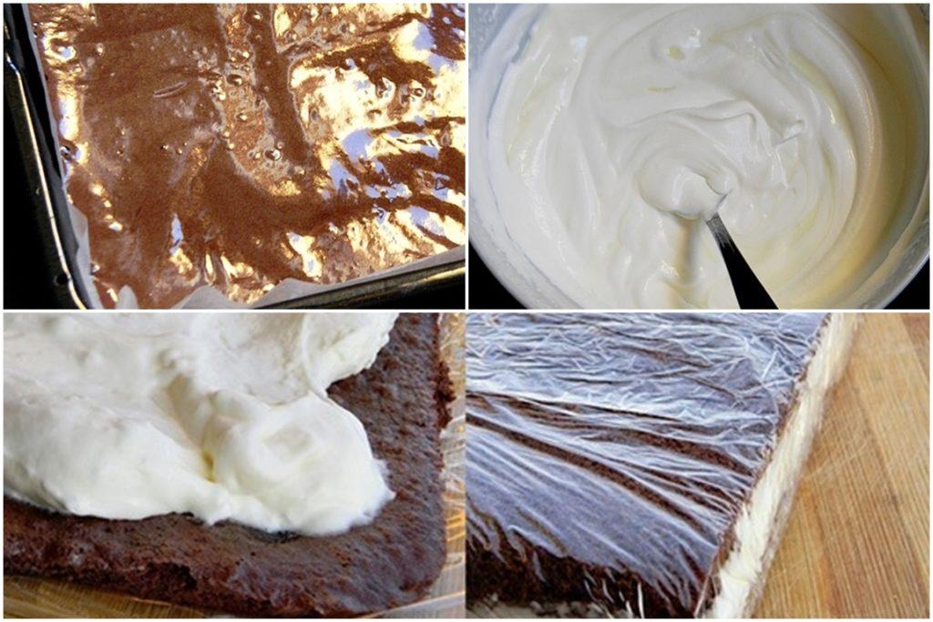 prăjitura felie de lapte