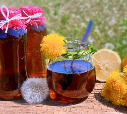 Sirop concentrat de păpădie sau miere falsă