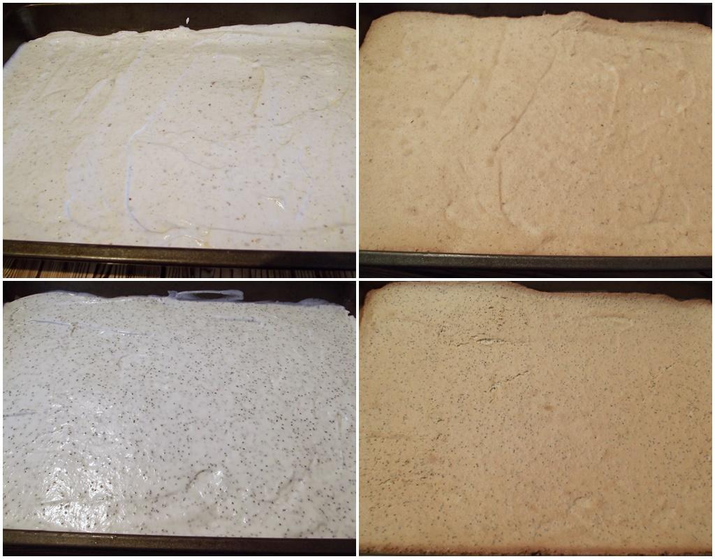 Colaj de poze cu blaturile pentru prăjitura Furnicuța