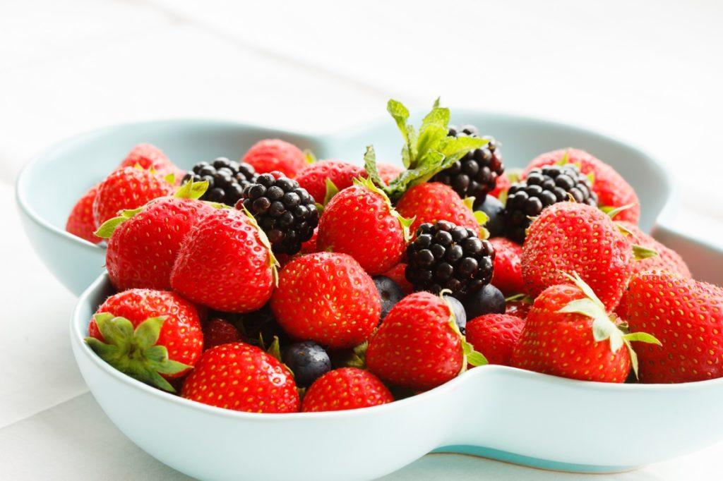 Fructe pregătite pentru congelare