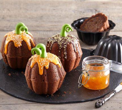 Muffins fantezie sub formă de dovleac